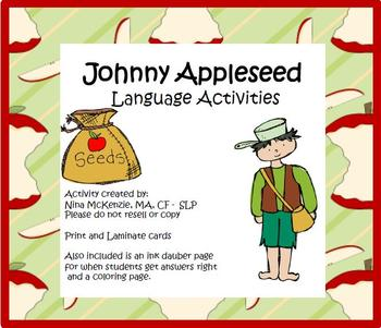 Tall Tales: Johnny Appleseed Language