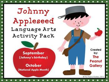 Johnny Appleseed Language Arts Activity Pack