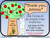 Johnny Appleseed Life Cycle of Apple Tree Craftivity