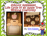 Johnny Appleseed Life Cycle of an Apple Tree Writing Craftivity