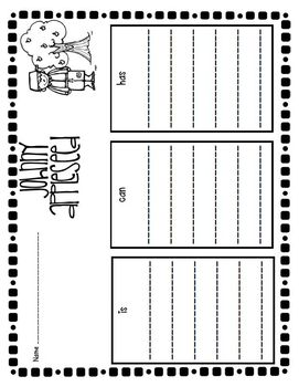Johnny Appleseed Literacy and Math Activities