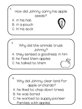 Johnny Appleseed Literacy and Math Centers