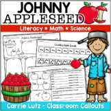 Johnny Appleseed Literacy/Social Studies, Math and Science