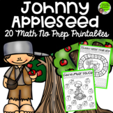 Johnny Appleseed Math No Prep Printables