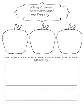 Johnny Appleseed Math, Science, and Literacy Stations