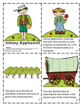 Johnny Appleseed Mini Book