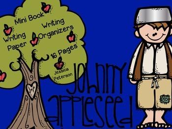 Johnny Appleseed {Mini Book & Writing Organizers}