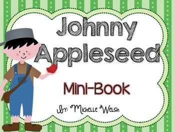 Johnny Appleseed Mini-Books (2 versions)
