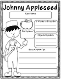 Johnny Appleseed Mini ELA Unit