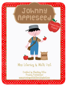 Johnny Appleseed Mini-Math and Literacy Activity