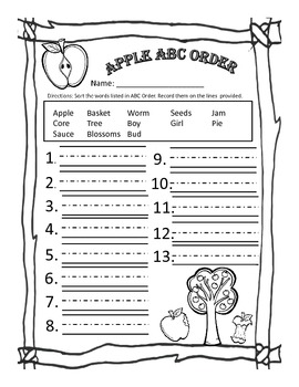 Johnny Appleseed Mini-Unit