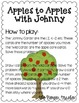 Johnny Appleseed Multiplication Game