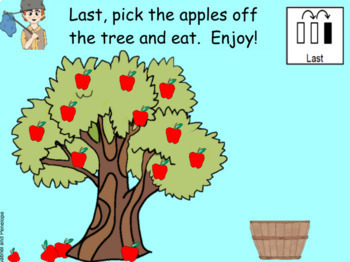 Johnny Appleseed and the Life Cycle of the Apple No Print No Prep