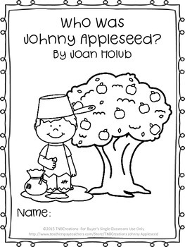 Who Was Johnny Appleseed? Novel Study