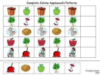 Johnny Appleseed Patterns
