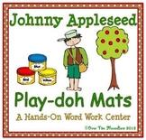 Johnny Appleseed Playdoh Mats