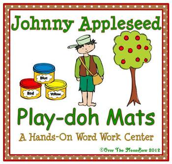Johnny Appleseed Playdoh Mats