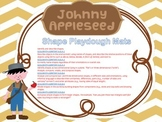 Johnny Appleseed Playdough Mats for SHAPES