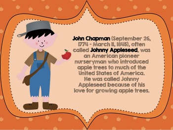 Johnny Appleseed Poster