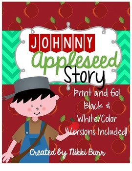 Johnny Appleseed Printable Story