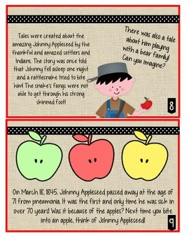 photo regarding Johnny Appleseed Printable Story named Johnny Appleseed Printable Tale