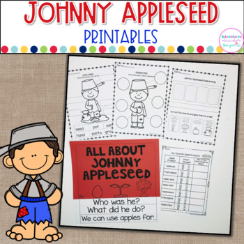 Johnny Appleseed Printables