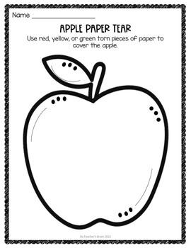 Johnny Appleseed Activities Kindergarten & 1st Grade