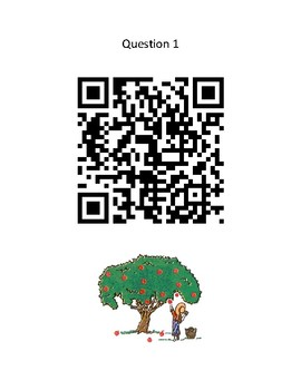 Johnny Appleseed - QR Code Scavenger Hunt - Johnny Appleseed Day