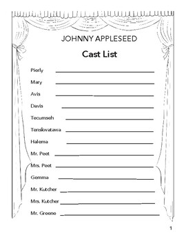 Johnny Appleseed: Readers' Theatre