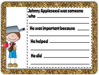 Johnny Appleseed Reading Skills Activities