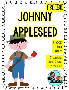 Johnny Appleseed- SPANISH and ENGLISH FREEBIE