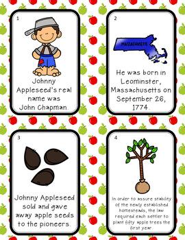 Johnny Appleseed Scavenger Hunt