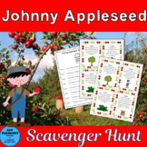 Johnny Appleseed with bonus apple graphs