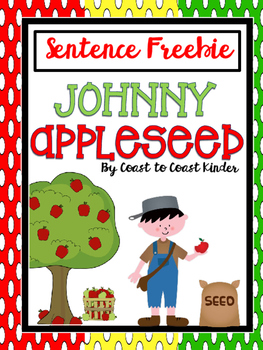 Johnny Appleseed Scrambled Sentences