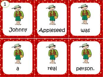 Johnny Appleseed Sentence Scramble