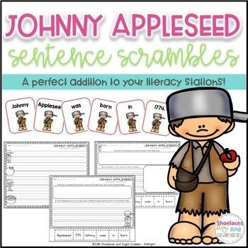 Johnny Appleseed Sentence Scrambles