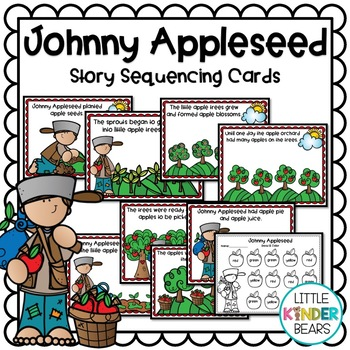 Johnny Appleseed Sequence Cards