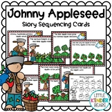 Johnny Appleseed Sequence Story Retelling Cards