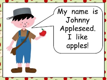Johnny Appleseed Shared Reading- Kindergarten