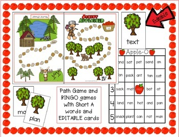 Johnny Appleseed Song with Literacy & Math Activities & Printables