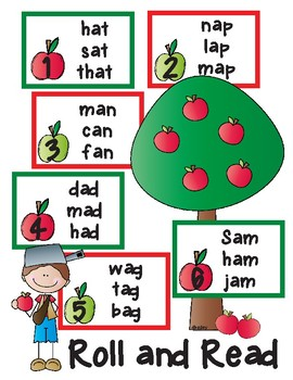 Johnny Appleseed Short a Roll and Read