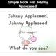 Johnny Appleseed Emergent Reader for Kindergarten and Pre-K