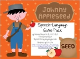 Johnny Appleseed Speech-Language Game Pack