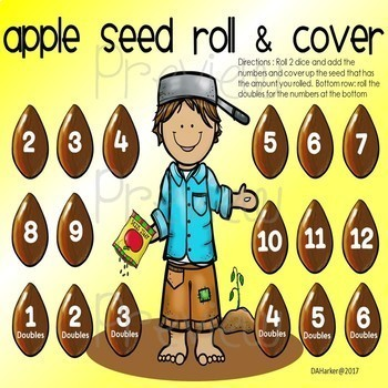 Johnny Appleseed Speech Therapy Printable Pack