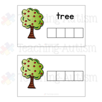 Johnny Appleseed Spelling and Handwriting Task Cards