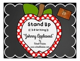 Johnny Appleseed Stand Up Writing Project