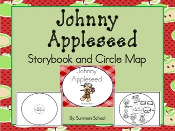Johnny Appleseed Storybook and Circle Map Activity