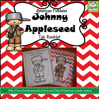 Johnny Appleseed Tab Booklet