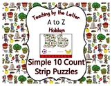 Johnny Appleseed ~ Teaching by the Letter Holiday Strip Nu