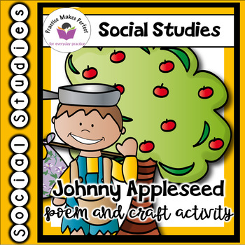 Johnny Appleseed Thankful Poem and Craft Activity